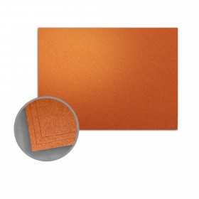 ASPIRE Petallics Copper Ore Flat Cards - A6 (4 5/8 x 6 1/4) 98 lb Cover Metallic C/2S 400 per Carton