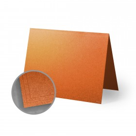 ASPIRE Petallics Copper Ore Folded Cards - A6 (4 5/8 x 6 1/4 folded) 98 lb Cover Metallic C/2S 200 per Carton