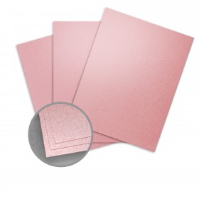 ASPIRE Petallics Mountain Rose Paper - 28 x 40 in 80 lb Text Metallic C/2S 30% Recycled   750 per Carton