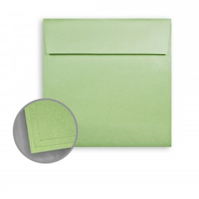 ASPIRE Petallics Greeneyes Envelopes - No. 6 1/2 Square (6 1/2 x 6 1/2) 81 lb Text Metallic C/2S 250 per Box