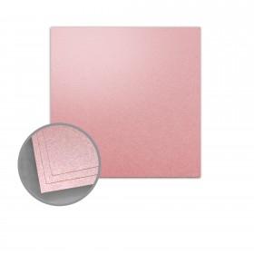 ASPIRE Petallics Mountain Rose Flat Cards - No. 6 1/4 Square (6 1/4 x 6 1/4) 98 lb Cover Metallic C/2S 200 per Carton