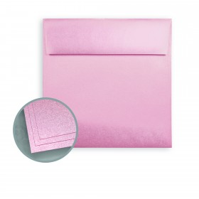 ASPIRE Petallics Mountain Rose Envelopes - No. 6 1/2 Square (6 1/2 x 6 1/2) 80 lb Text Metallic C/2S 30% Recycled  250 per Box