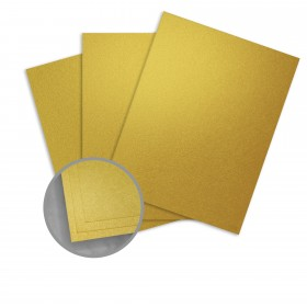 ASPIRE Petallics Pure Gold Card Stock - 28 x 40 in 105 lb Cover Metallic C/2S 300 per Carton