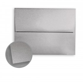 ASPIRE Petallics Pure Silver Envelopes - A6 (4 3/4 x 6 1/2) 81 lb Text Metallic C/2S 250 per Box