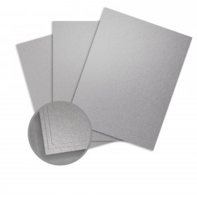 ASPIRE Petallics Pure Silver Paper - 8 1/2 x 11 in 81 lb Text Metallic C/2S 350 per Package