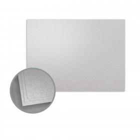 ASPIRE Petallics Silver Ore Flat Cards - A6 (4 5/8 x 6 1/4) 98 lb Cover Metallic C/2S 400 per Carton