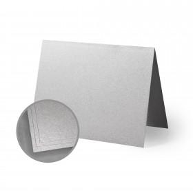ASPIRE Petallics Silver Ore Folded Cards - A2 (4 1/4 x 5 1/2 folded) 98 lb Cover Metallic C/2S 400 per Carton