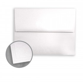 ASPIRE Petallics Snow Willow Envelopes - A9 (5 3/4 x 8 3/4) 81 lb Text Metallic C/2S 250 per Box