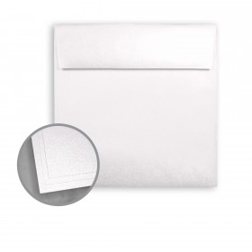 ASPIRE Petallics Snow Willow Envelopes - No. 6 1/2 Square (6 1/2 x 6 1/2) 81 lb Text Metallic C/2S 250 per Box