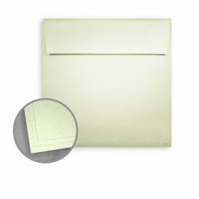 ASPIRE Petallics Spearmint Envelopes - No. 6 1/2 Square (6 1/2 x 6 1/2) 81 lb Text Metallic C/2S 250 per Box