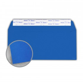 Astrobrights Blast-Off Blue Envelopes - No. 10 Commercial Peel & Seal (4 1/8 x 9 1/2) 60 lb Text Smooth 500 per Box
