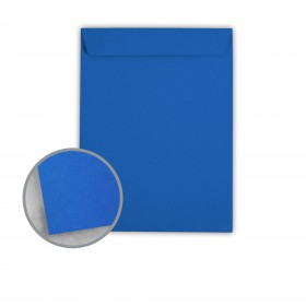 Astrobrights Blast-Off Blue Envelopes - No. 10 1/2 Catalog (9 x 12) 60 lb Text Smooth 500 per Carton