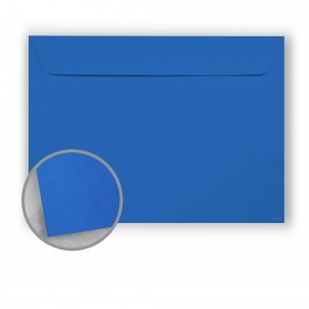 Astrobrights Blast-Off Blue Envelopes - No. 9 1/2 Booklet (9 x 12) 60 lb Text Smooth 500 per Carton