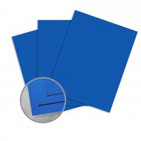 Astrobrights Blast-Off Blue Card Stock - 23 x 35 in 65 lb Cover Smooth 500 per Carton