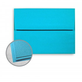 Astrobrights Celestial Blue Envelopes - A7 (5 1/4 x 7 1/4) 60 lb Text Smooth  30% Recycled 250 per Box