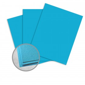Astrobrights Celestial Blue Card Stock - 8 1/2 x 11 in 65 lb Cover Smooth  30% Recycled 250 per Package
