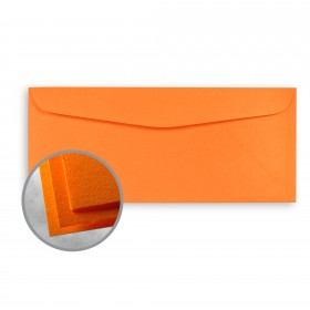 Astrobrights Cosmic Orange Envelopes - No. 10 Commercial (4 1/8 x 9 1/2) 60 lb Text Smooth 500 per Box