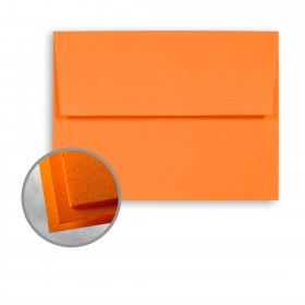Astrobrights Cosmic Orange Envelopes - A7 (5 1/4 x 7 1/4) 60 lb Text Smooth 250 per Box