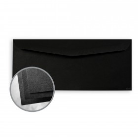 Astrobrights Eclipse Black Envelopes - No. 10 Commercial (4 1/8 x 9 1/2) 60 lb Text Smooth  30% Recycled 500 per Box