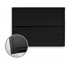 Astrobrights Eclipse Black Envelopes - A7 (5 1/4 x 7 1/4) 60 lb Text Smooth  30% Recycled 250 per Box