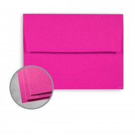 Astrobrights Fireball Fuchsia Envelopes - A7 (5 1/4 x 7 1/4) 60 lb Text Smooth 250 per Box