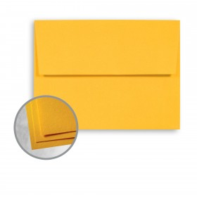 Astrobrights Galaxy Gold Envelopes - A2 (4 3/8 x 5 3/4) 60 lb Text Smooth  30% Recycled 250 per Box
