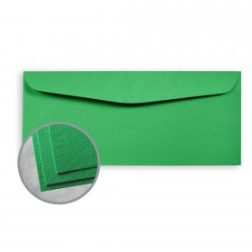 Astrobrights Gamma Green Envelopes - No. 10 Commercial (4 1/8 x 9 1/2) 60 lb Text Smooth  30% Recycled 500 per Box