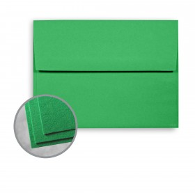 Astrobrights Gamma Green Envelopes - A7 (5 1/4 x 7 1/4) 60 lb Text Smooth  30% Recycled 250 per Box