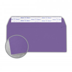 Astrobrights Gravity Grape Envelopes - No. 10 Commercial Peel & Seal (4 1/8 x 9 1/2) 60 lb Text Smooth 500 per Box