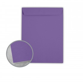 Astrobrights Gravity Grape Envelopes - No. 10 1/2 Catalog (9 x 12) 60 lb Text Smooth 500 per Carton