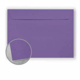 Astrobrights Gravity Grape Envelopes - No. 9 1/2 Booklet (9 x 12) 60 lb Text Smooth 500 per Carton