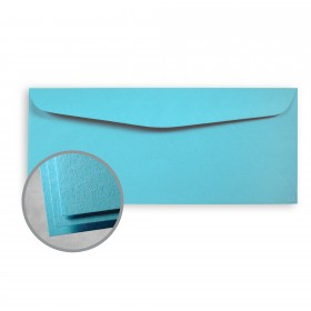 Astrobrights Lunar Blue Envelopes - No. 10 Commercial (4 1/8 x 9 1/2) 60 lb Text Smooth  30% Recycled 500 per Box