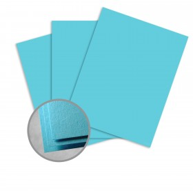 Astrobrights Lunar Blue Card Stock - 8 1/2 x 11 in 80 lb Cover Smooth  30% Recycled 250 per Package