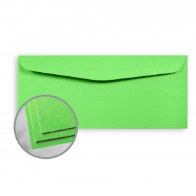 Astrobrights Martian Green Envelopes - No. 10 Commercial (4 1/8 x 9 1/2) 60 lb Text Smooth  30% Recycled 500 per Box