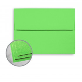 Astrobrights Martian Green Envelopes - A6 (4 3/4 x 6 1/2) 60 lb Text Smooth  30% Recycled 250 per Box