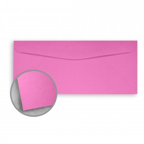 Astrobrights Outrageous Orchid Envelopes - No. 10 Commercial (4 1/8 x 9 1/2) 60 lb Text Smooth 500 per Box