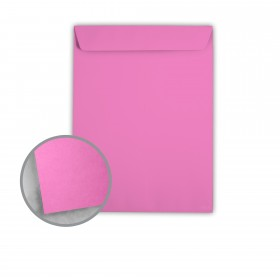 Astrobrights Outrageous Orchid Envelopes - No. 10 1/2 Catalog (9 x 12) 60 lb Text Smooth 500 per Carton