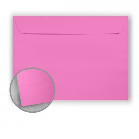 Astrobrights Outrageous Orchid Envelopes - No. 9 1/2 Booklet (9 x 12) 60 lb Text Smooth 500 per Carton