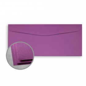 Astrobrights Planetary Purple Envelopes - No. 10 Commercial (4 1/8 x 9 1/2) 60 lb Text Smooth  30% Recycled 500 per Box