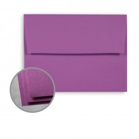 Astrobrights Planetary Purple Envelopes - A7 (5 1/4 x 7 1/4) 60 lb Text Smooth  30% Recycled 250 per Box