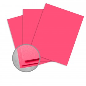 Astrobrights Plasma Pink Card Stock - 23 x 35 in 80 lb Cover Smooth 500 per Carton