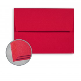 Astrobrights Re-Entry Red Envelopes - A6 (4 3/4 x 6 1/2) 60 lb Text Smooth  30% Recycled 250 per Box