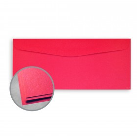 Astrobrights Rocket Red Envelopes - No. 10 Commercial (4 1/8 x 9 1/2) 60 lb Text Smooth 500 per Box