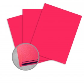 Astrobrights Re-Entry Red Paper - 23 x 35 in 60 lb Text Smooth  30% Recycled 1000 per Carton
