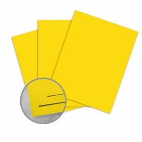 Astrobrights Solar Yellow Paper - 23 x 35 in 60 lb Text Smooth 1000 per Carton