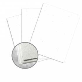 Astrobrights Stardust White (flecked) Card Stock - 35 x 23 in 65 lb Cover Smooth  30% Recycled 500 per Carton