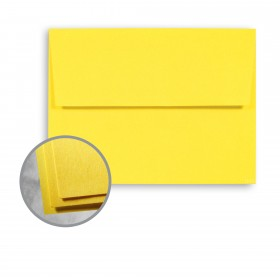 Astrobrights Sunburst Yellow Envelopes - A2 (4 3/8 x 5 3/4) 60 lb Text Smooth  30% Recycled 250 per Box