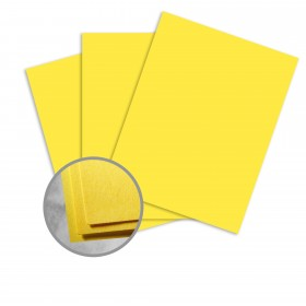 Astrobrights Sunburst Yellow Paper - 23 x 35 in 60 lb Text Smooth  30% Recycled 1000 per Carton