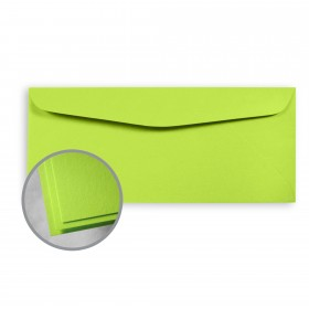 Astrobrights Terra Green Envelopes - No. 10 Commercial (4 1/8 x 9 1/2) 60 lb Text Smooth 500 per Box