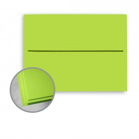 Astrobrights Terra Green Envelopes - A7 (5 1/4 x 7 1/4) 70 lb Text Smooth 250 per Box